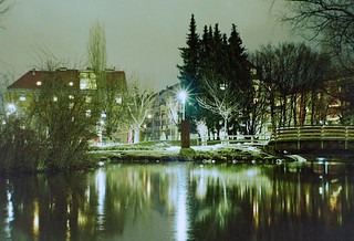 Rapoldipark - big pond - Innsbruck