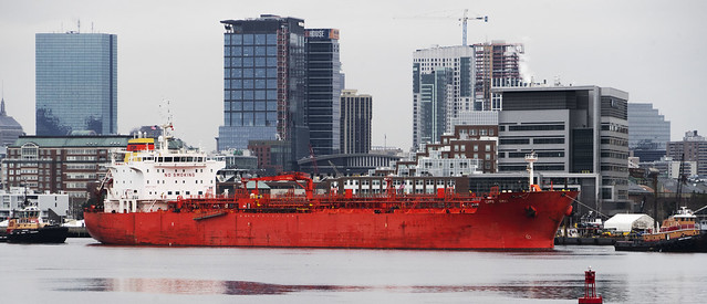 Red Tanker-Gray City