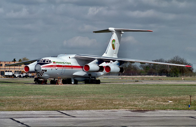RA-76842 IIyushin IL-76TD Air Stan Stansted 1995