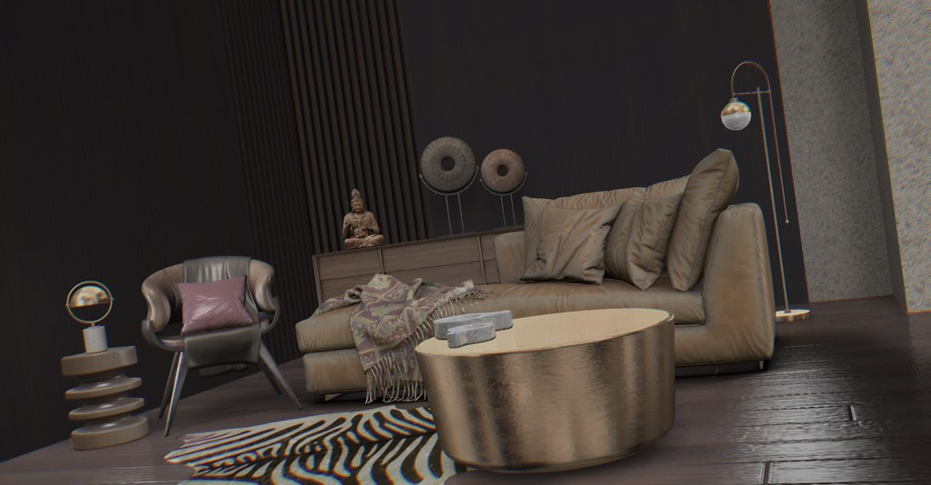 Jack Hanby Interiors- Equal10 Ft; Fancy Decor, Black Sand & KUNI H&D