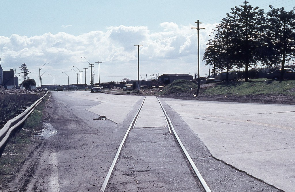 Railway Line to Bunnerong Power Station, Port Botany, NSW.