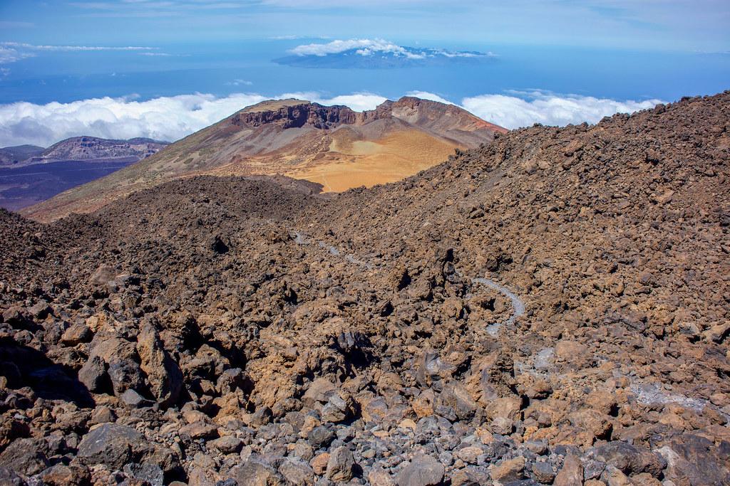 Descenso del Teide por el sendero de Pico Viejo