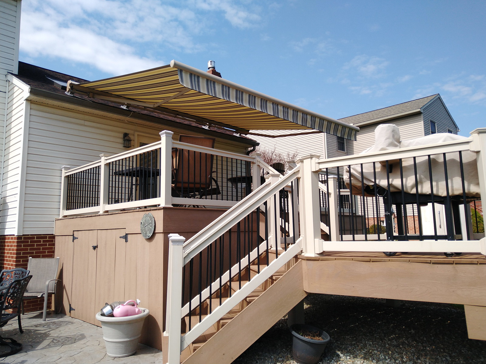Retractable-Awning Straight Valance