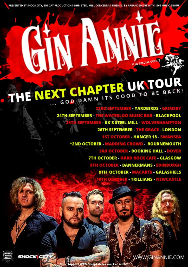 Gin Annie Announce The Next Chapter – UK Tour