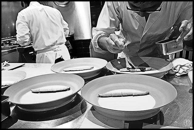 Cuisinier japonais