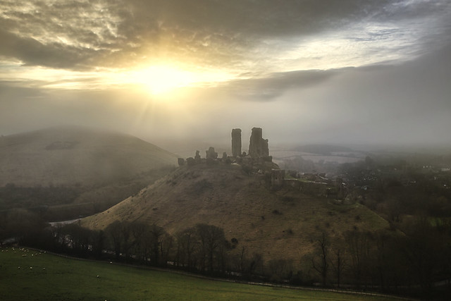 Misty Castle in a Distant Land