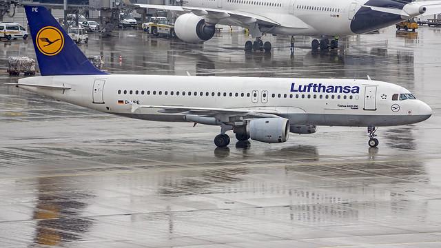 Lufthansa Airbus A320 D-AIPE