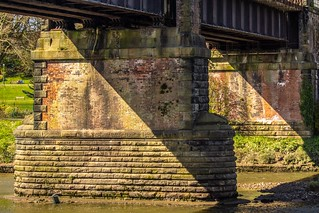 Bridge supports for the former East Lancs Railway bridge | by Gary S Bond