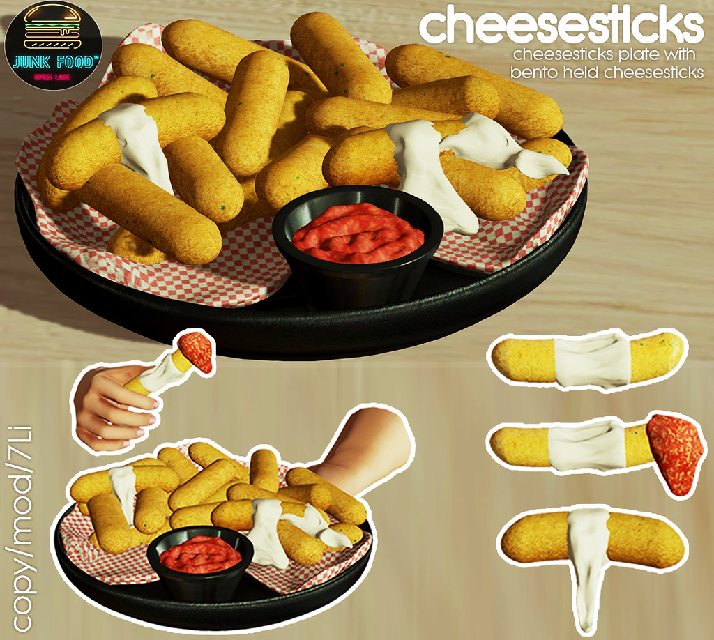 Junk Food - Cheesesticks Ad