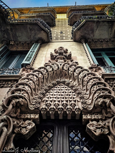 Barcelona. Cases Cabot. 1901-04. Modernista.