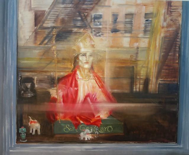 Rómulo Macció 'Window in Little Italy' (Ventana en Little Italy)