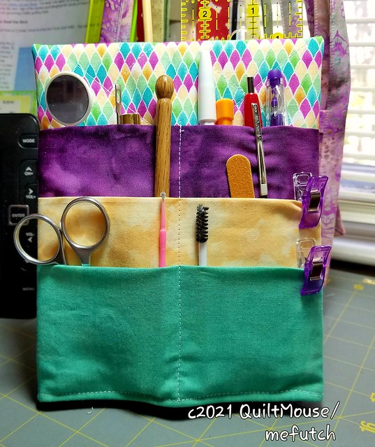 2021-04-11 Sewing Caddy - Front