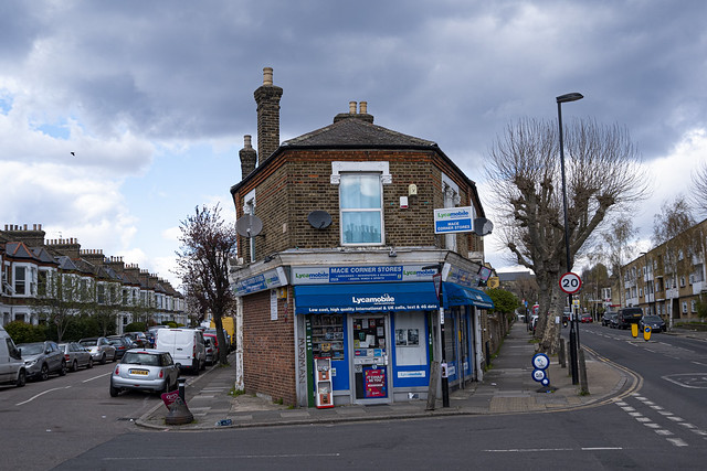 Corner Shop, Brockley