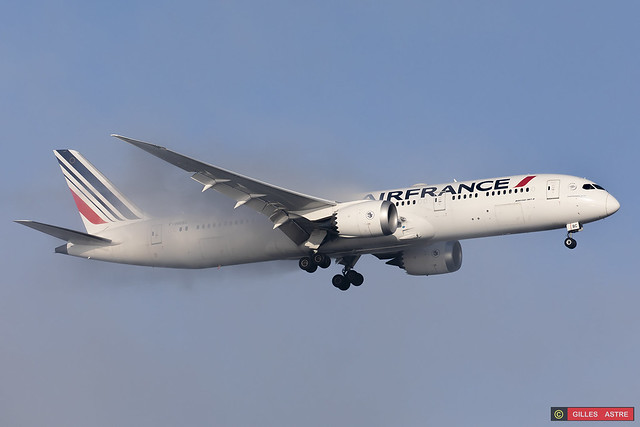 LFPG 09 janvier 2021 Boeing 787 Air France F-HRBC