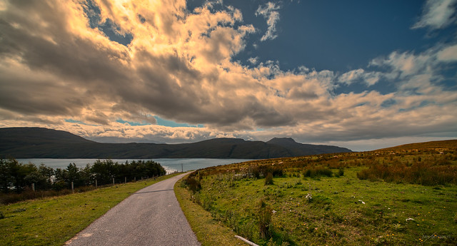Loch Broom near Ullapool, Scotland.
