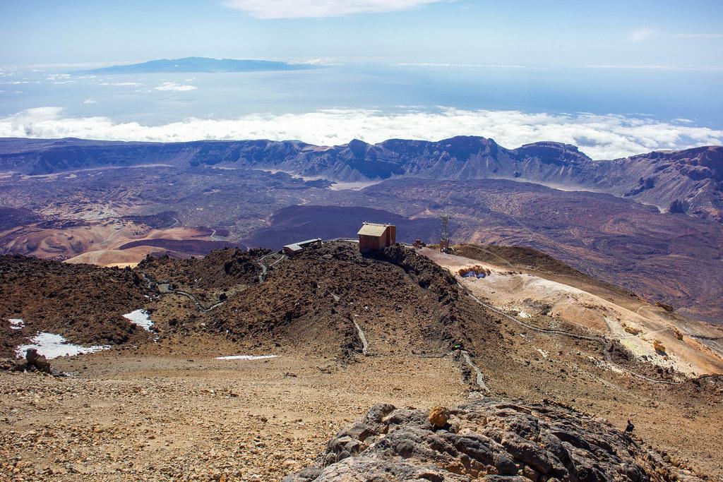 Estación superior del teleférico del Teide