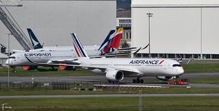 Air France A350-900 (F-WZGR F-HTYH MSN488) (12/04/2021)