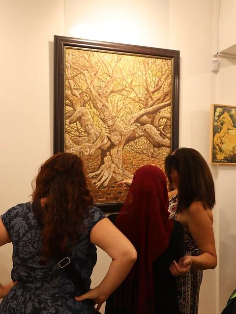 ביקור בתערוכה איילת בוקר היוצרת האמנית הציירת הישראלית העכשווית המודרנית יוצרות אמניות ציירות ישראליות עכשוויות מודרניות