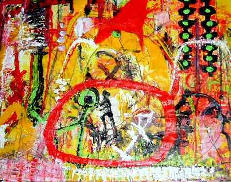 האמנית העכשווית שרה זלוטי ציירת מופשטים עכשווית יוצרת אבסטרקטית מודרנית ציור מופשט אמנית אבסטרקט