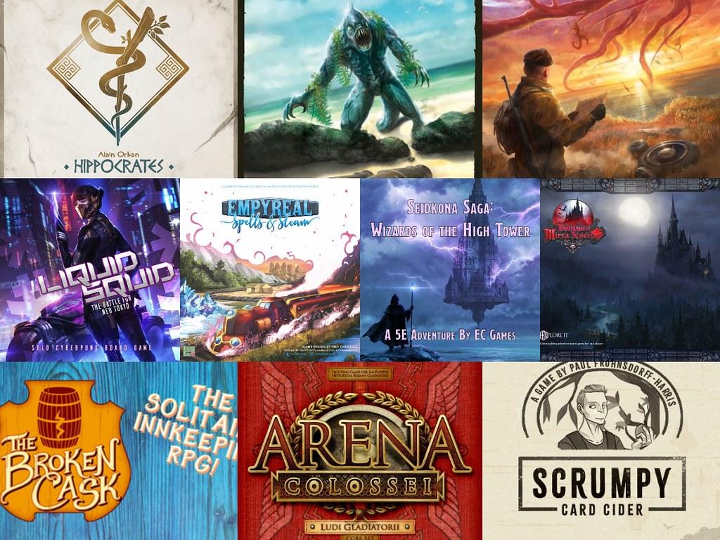 Noticias - Kickstarters & Gamefound 5/04 - 11/04