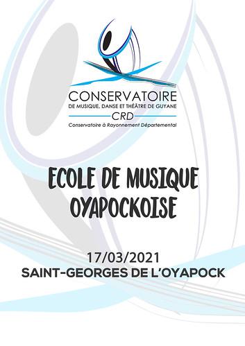 Ecole de Musique Oyapockoise (17/03/2021)