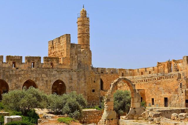 Jerusalem / Citadel and Minaret