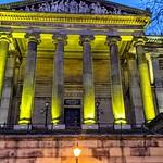 Illuminated Harris Museum