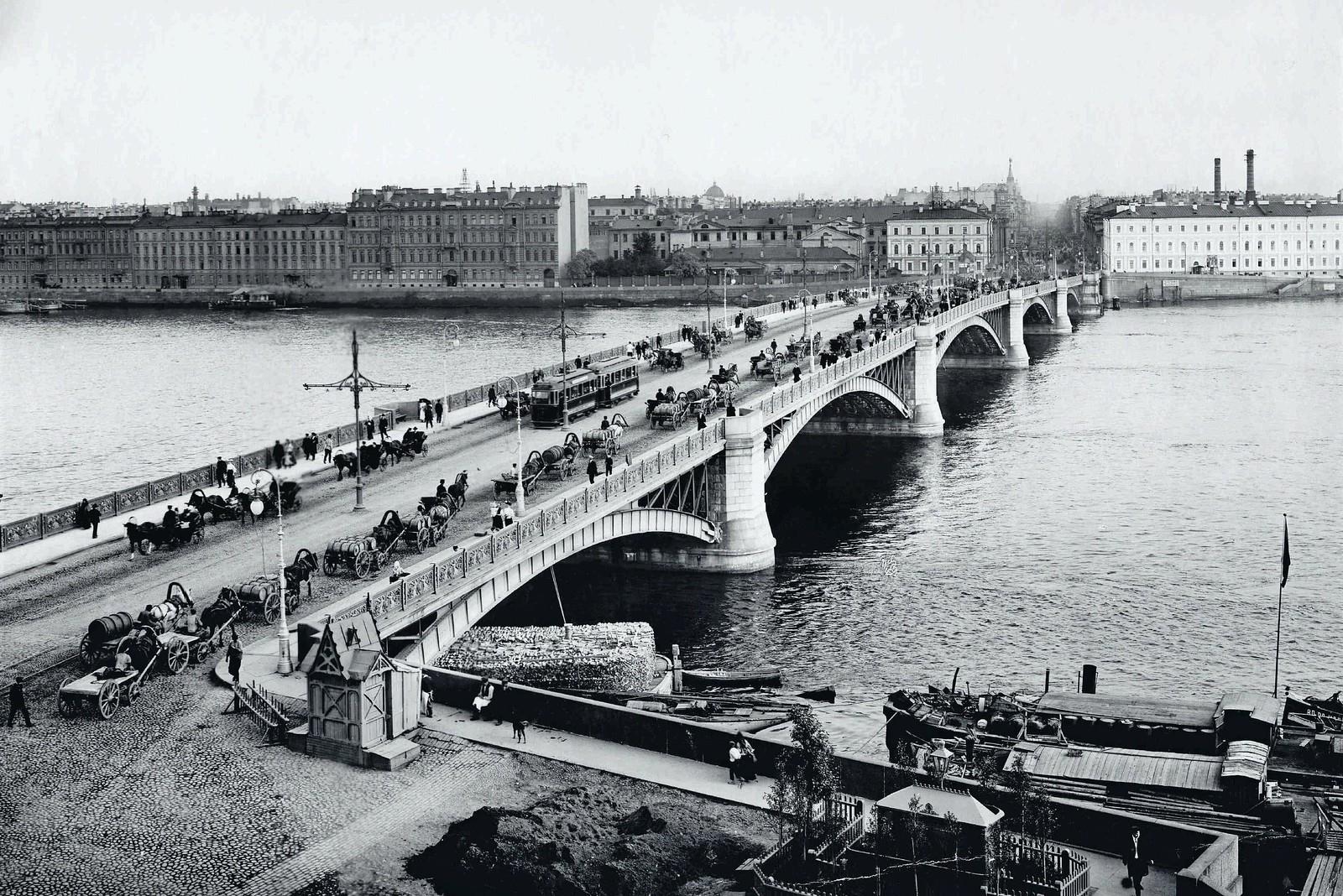 1910-е. Троицкий мост