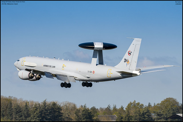 boeing E3F Sentry Awacs French Air Force (36-CB)
