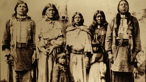 Image of Utes found during visit to Southern Ute Cultural Center and Museum in Ignacio, Colorado. From History Comes Alive at Colorado's Vista Verde Ranch