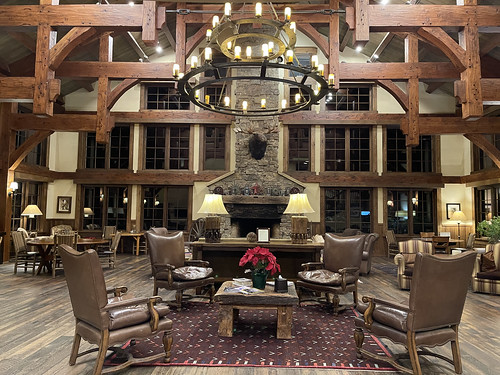 Inside the current lodge. From History Comes Alive at Colorado's Vista Verde Ranch