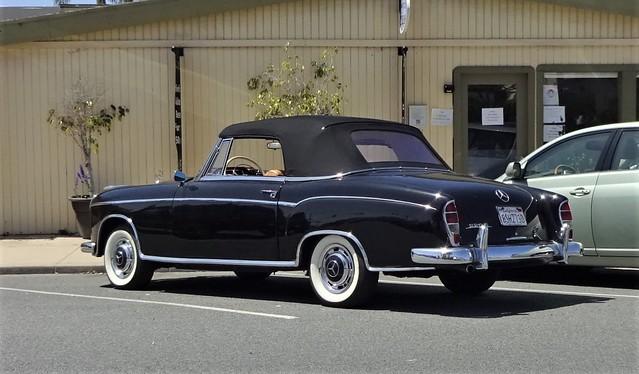 1956-1959 mercedes 220s