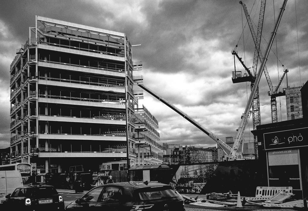 new build at Haymarket, Edinburgh