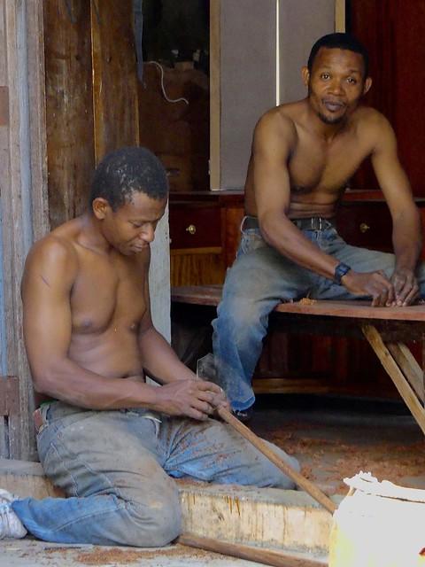 Carpenters, Stone Town Zanzibar, Tanzania