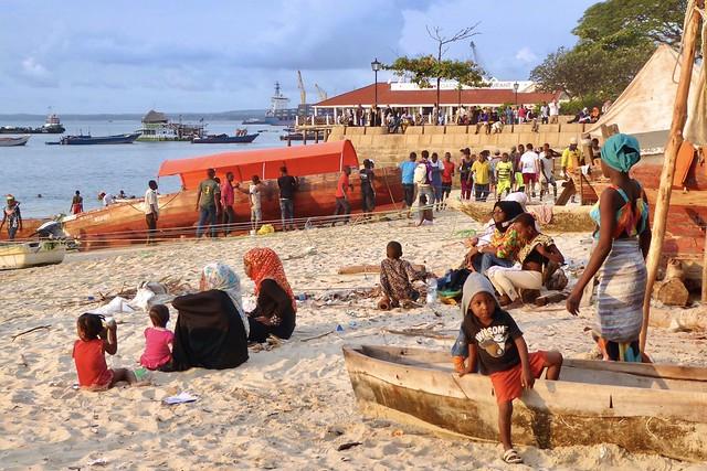 Beach life, Stone Town Zanzibar, Tanzania