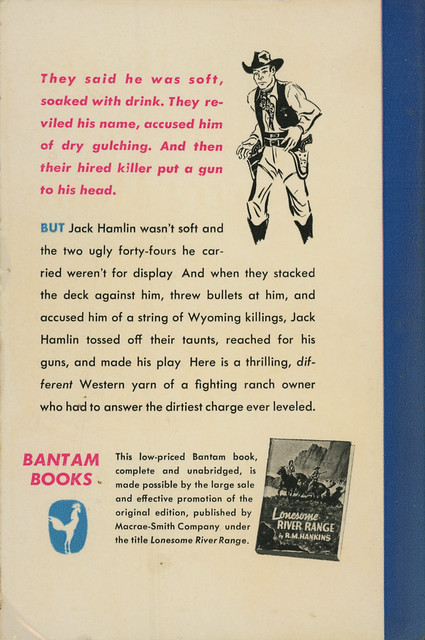 Bantam Books 259 - R.M. Hankins - The Man from Wyoming (back)