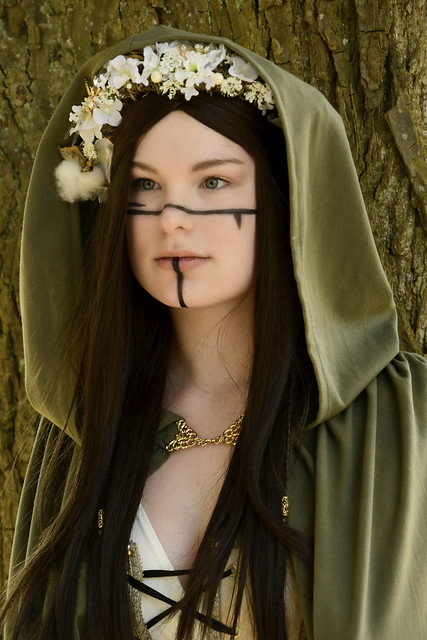 180421 Haarzuilens - Elfia 2018 - The Girl with the Green Cape 1003