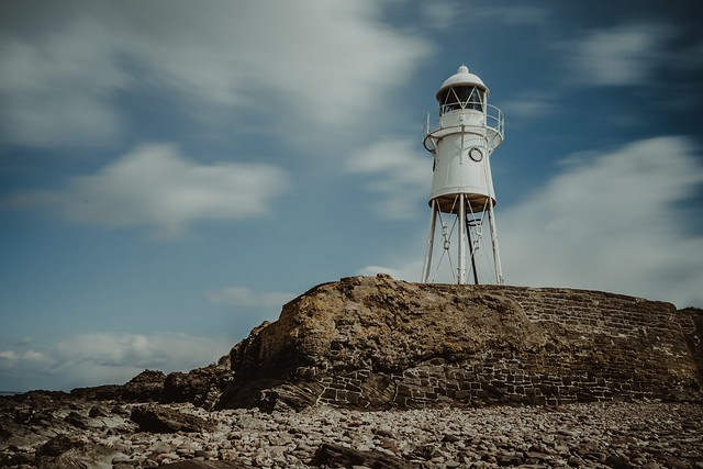 Black Nore lighthouse...