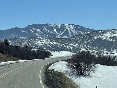 On Road between the Ranch and Steamboat Ski Resort. From History Comes Alive at Colorado's Vista Verde Ranch