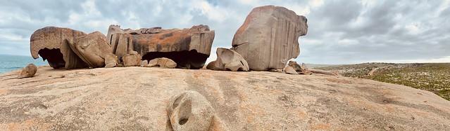 Remarkable rocks pano