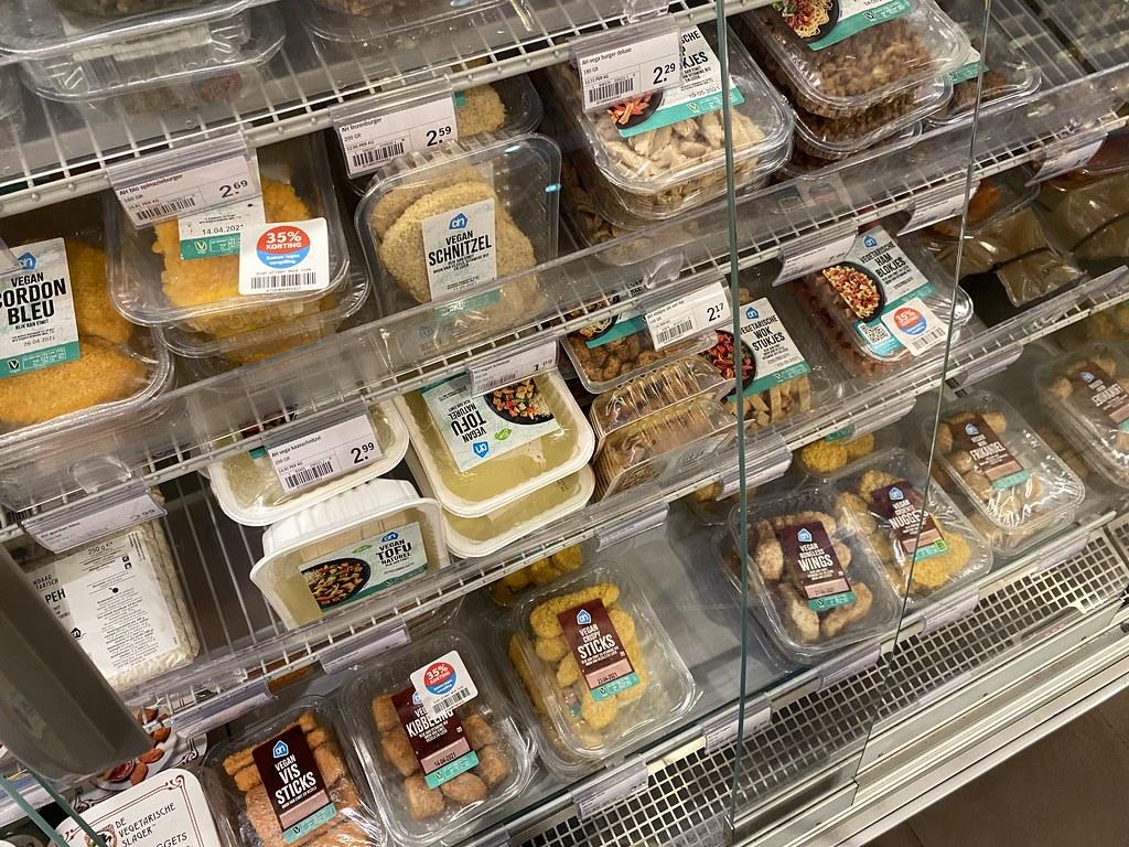 Productos vegetarianos en Albert Heijn