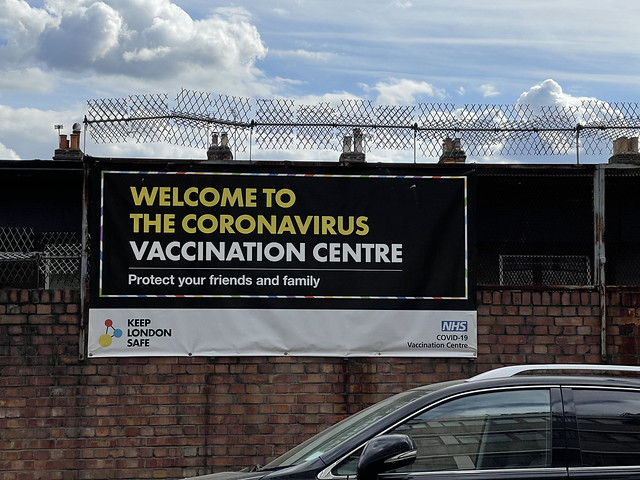 IMG_2900 Welcome to The COVID-19 Coronavirus Vaccination Centre 3a Bocking Street London Fields Hackney E8 3RU. Second Dose Pfizer/BioNTech COVID-19 vaccine. Protect your Friends and Family. Keep London Safe