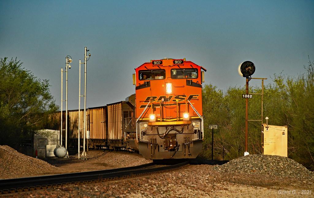 Westbound Empty Coal Train in Rulo, NE