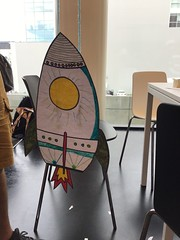 Rocket ship craft, Tūranga