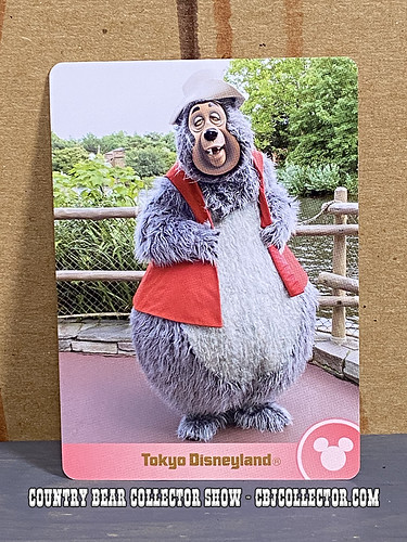 Tokyo Disneyland Big Al Collection Card - CBCS 302