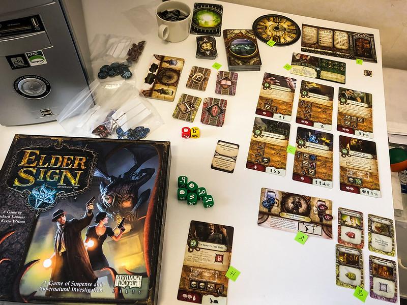 Elder Sign boardgame