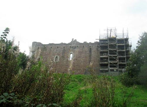 Doune Castle and Scaffolding