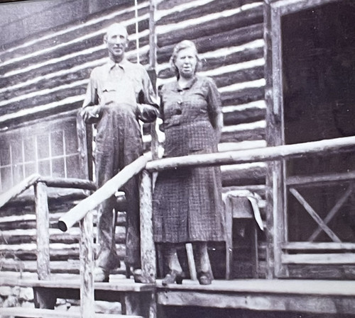 Arthur and Salome Tufly, 2nd Owners of Vista Verde Ranch. From History Comes Alive at Colorado's Vista Verde Ranch
