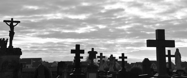 """""""La croix est l'échelle des cieux.""""  -  """"The cross is the ladder of the heavens."""""""