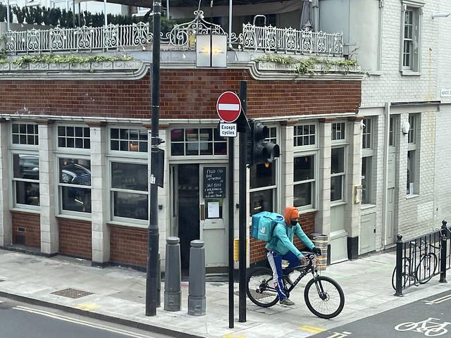 IMG_2896 London Bus Route #55 Hackney Road The Marksman English Pub